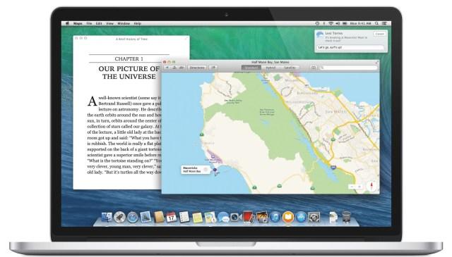OS X Mavericks on MacBook