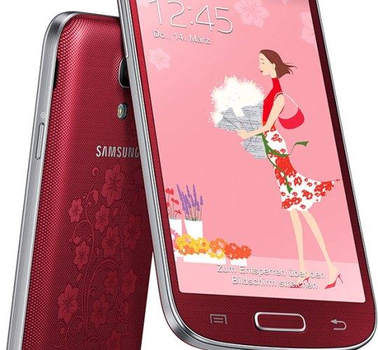 Το Galaxy S4 mini La Fleur της Samsung