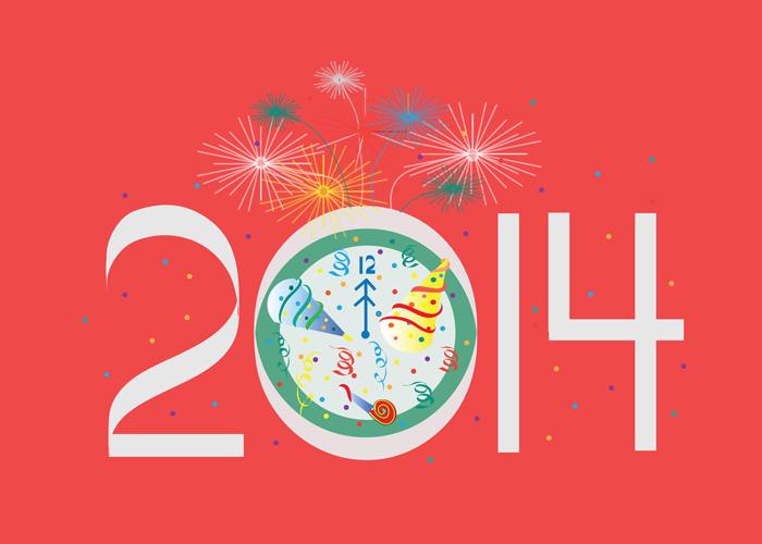 2014 New Years Card