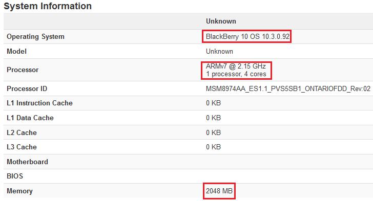 BlackBerry Ontario Sys Info leak
