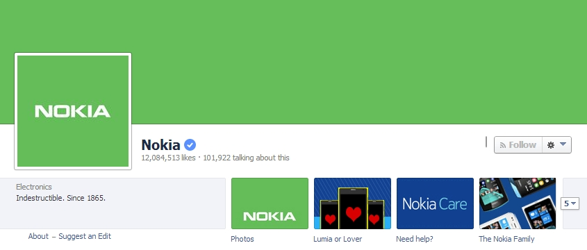 Nokia green Android