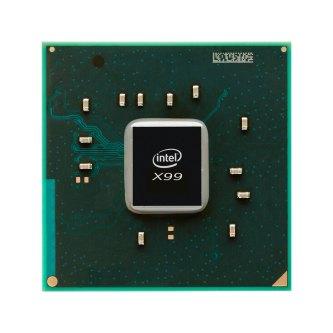 Intel X99 chipset front
