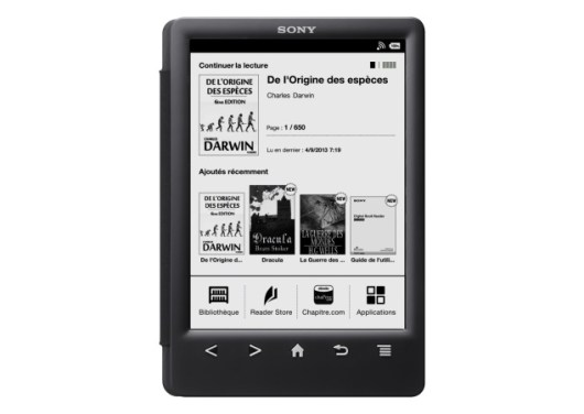 Sony PRS-T3 E-reader