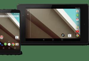 Android L on Nexus