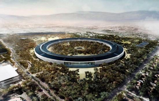 Apple Campus 2 rendering