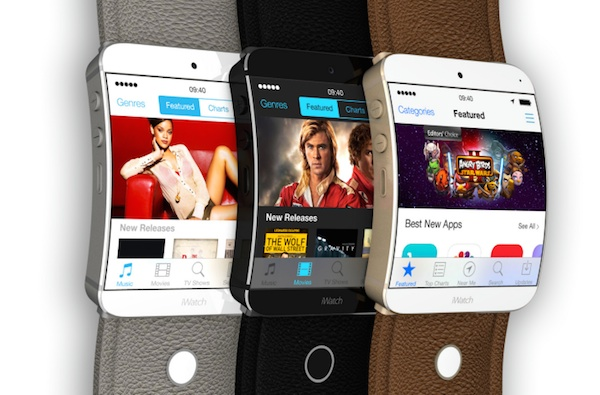 Apple iWatch App Store concept
