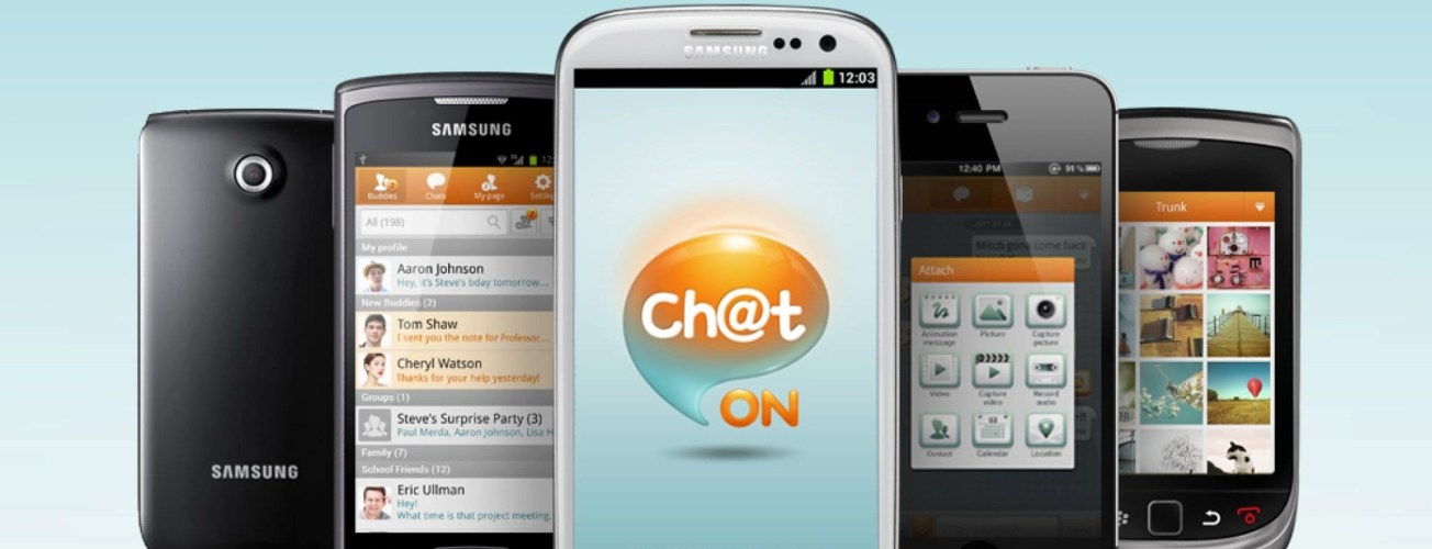 Samsung ChatOn Devices