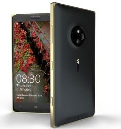 Nokia Lumia 830 golden