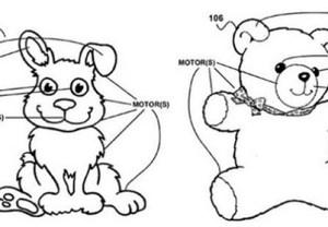 Google smart toy patent