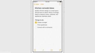 Apple iOS 9 Todo Checklist