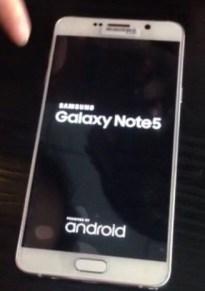Samsung Galaxy Note 5 leak 2