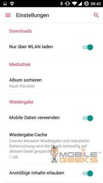 Apple Music for Android leak 1