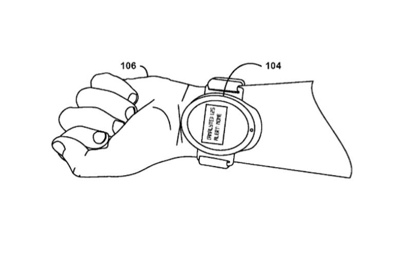 Google 14/289362 smartwatch patent