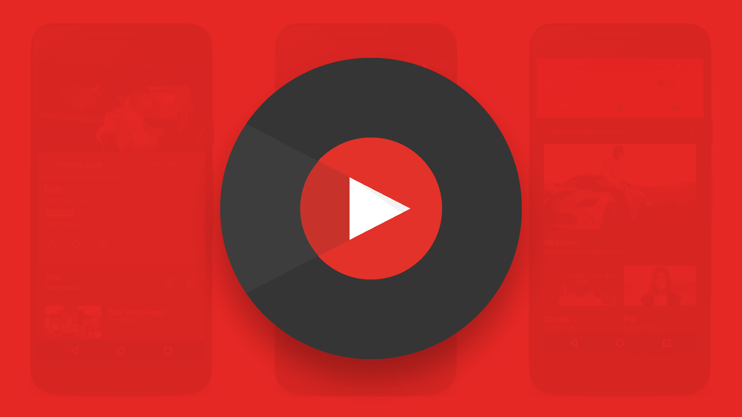 YouTube Launches Its Long Awaited Music App   TechCrunch youtube music app1