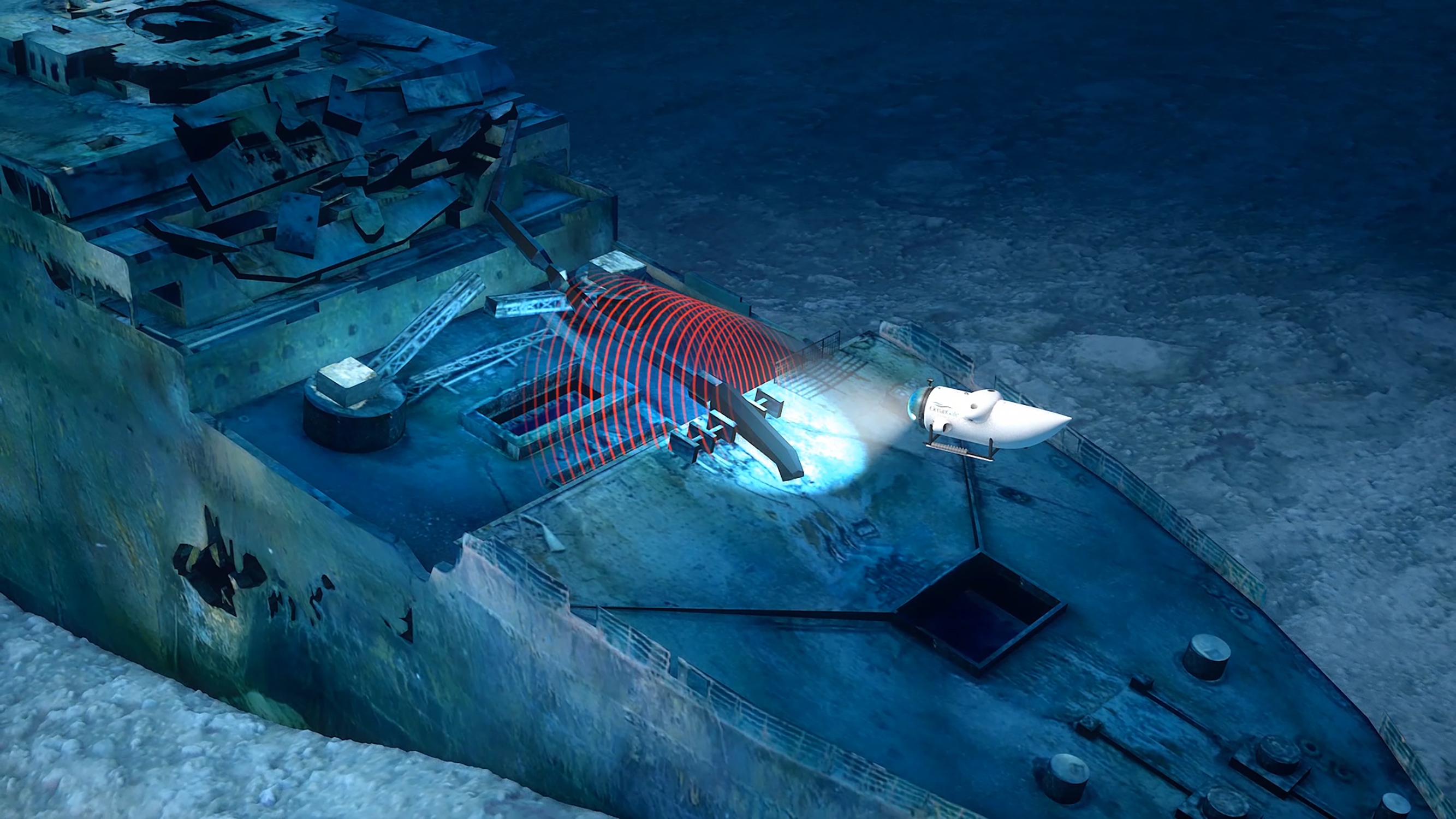 OceanGate plans an expedition to 3D scan the Titanic   TechCrunch OceanGate scanning the Titanic