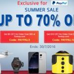 TomTop Summer Sale  – Best Discounts on Smartphones, VR Headset, TV Box, Sports Camera