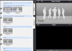 iMovie Storyboard