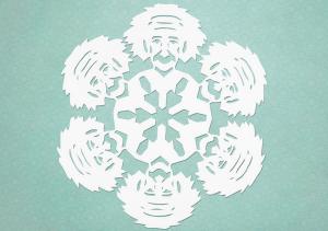 Einstein Snowflakes