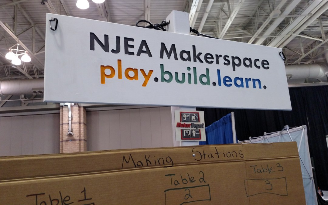 NJEA Convention Makerspace 2015