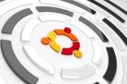 ubuntu WHITE ROUND logo wallpaper
