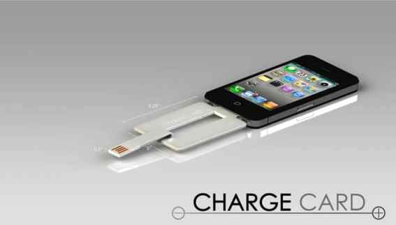ChargeCard Specifications