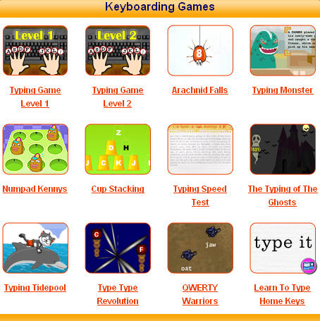 Keyboarding Sites for Kids (6/6)