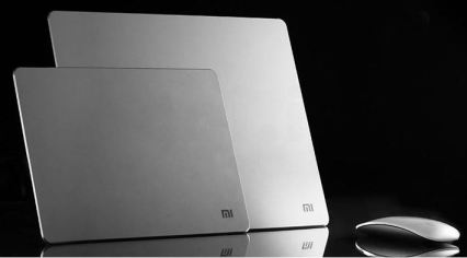 MI rubber and metal aluminium mousepad price and availability
