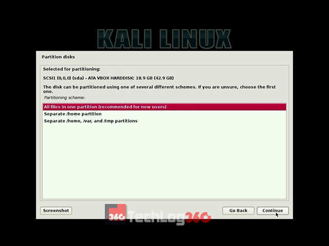 dual boot kali 2.0 with windows 10
