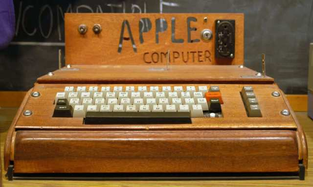 original Apple Computer, also known as the Apple I