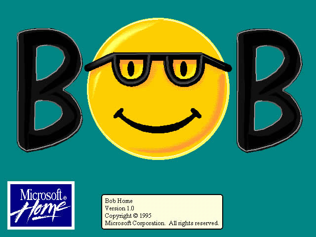 Failed Microsoft products - Microsoft Bob