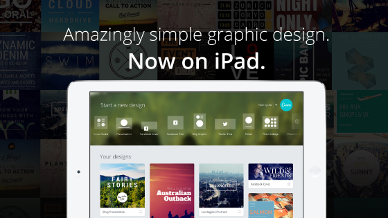 Canva for the iPad