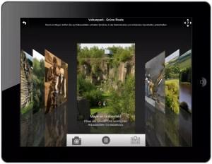 """Urlaubsgästen wie auch Einheimischen gewährt die Vulkanpark-App """"Touround"""" einen Überblick über attraktive Freizeitangebote."""