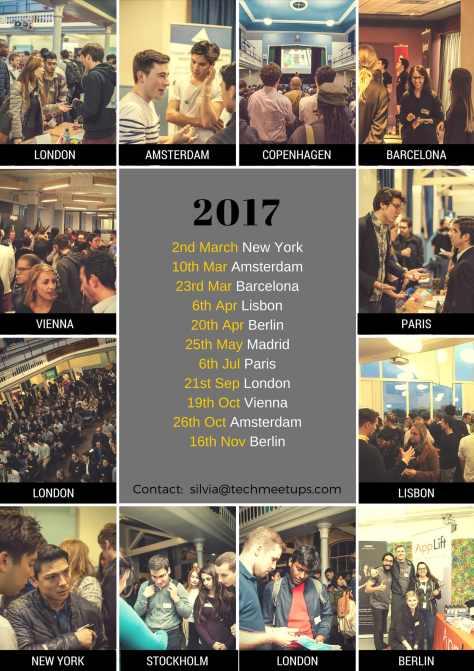 TECH STARTUP JOBS FAIRS 2017