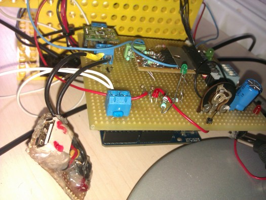 arduino med ethernetshield som solartracker