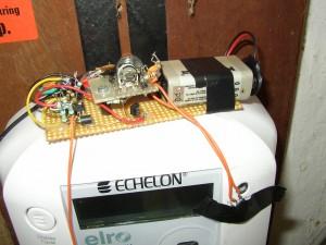 echelon elmåler fra elro med optisk læser til elmåler