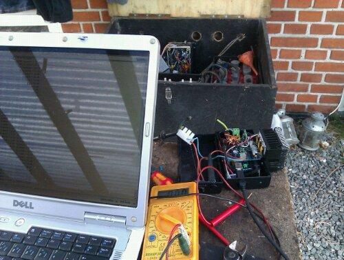 test af mppt solcelle lader