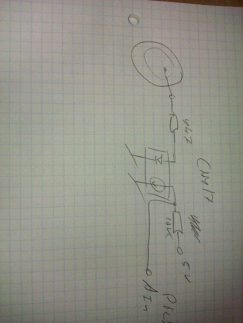 røgalarm tilsluttet cny17