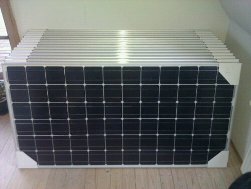 ulica Solcellepanel 200 watt