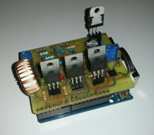 arduino mppt solar lader