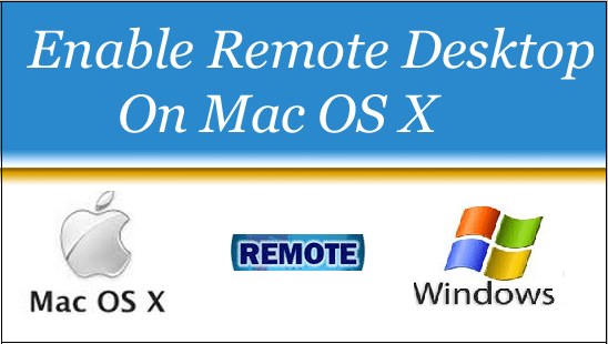 enable remote on Mac OS