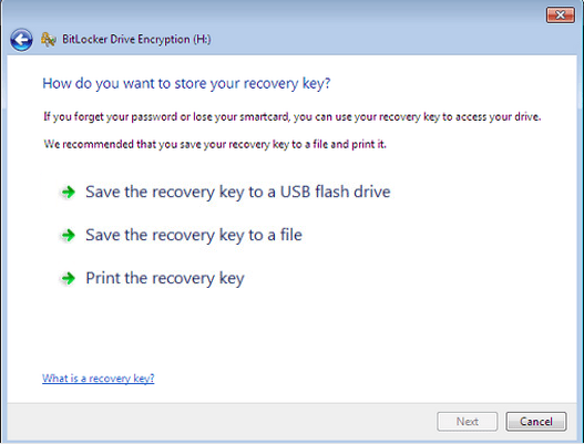how to protect hard drive with password