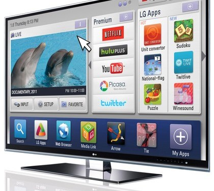 LG to release their own Internet TV this month
