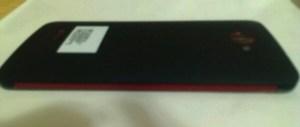 Mystery HTC Phablet back photo