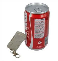 Spy Camera Coke Can