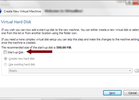 VirtualBox - Virtual Hard Disk