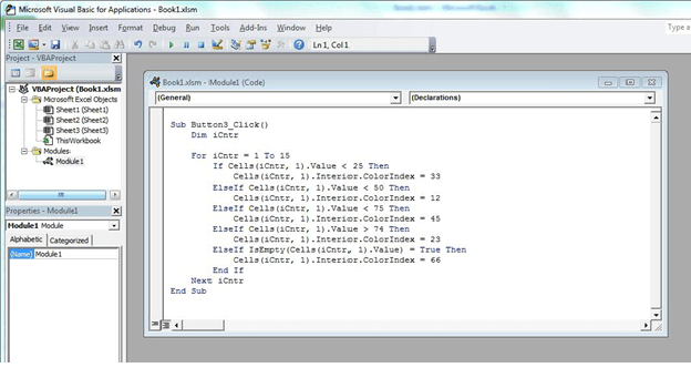 how to learn excel vba programming