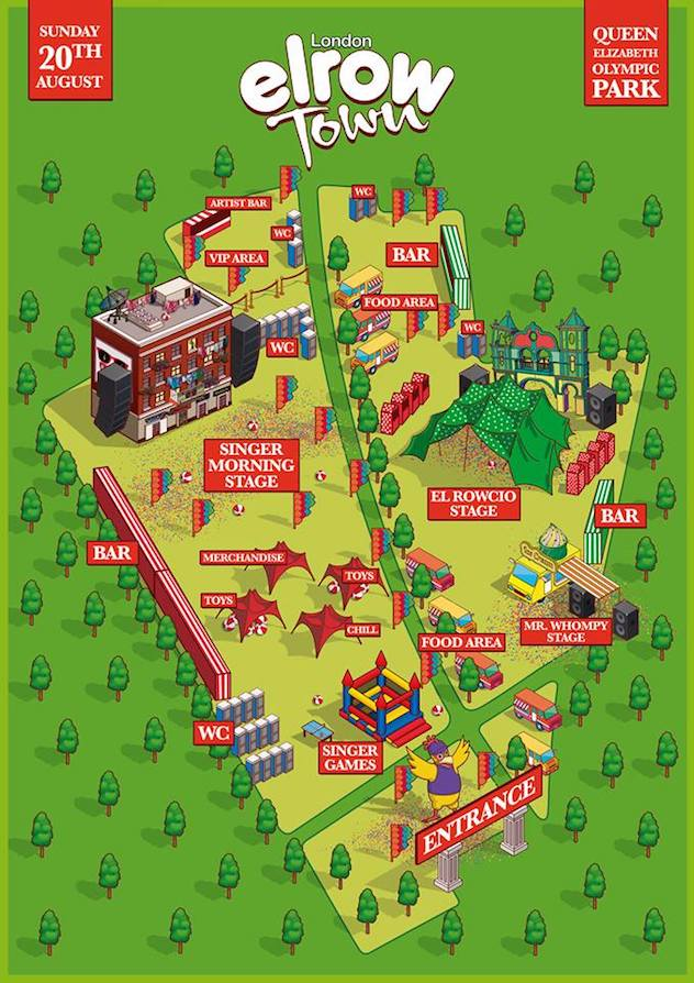 elrow-town-olympic-park-map