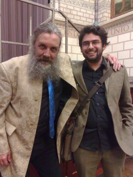 Alan Moore and Mitch Jenkins