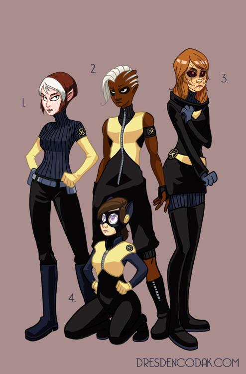 X-Men reboot by Aaron Diaz