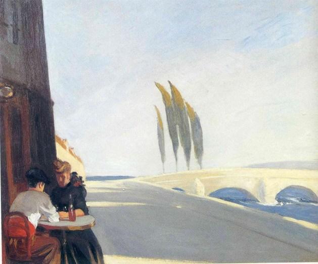 Edward Hopper - Bistro - 1909